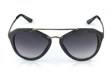 Saulės akiniai - pilko medžio