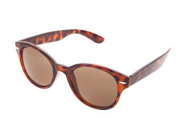 Saulės akiniai - suapvalintos formos