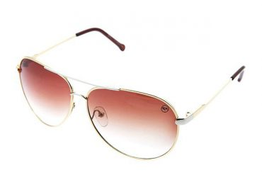Aviator tipo saulės akiniai