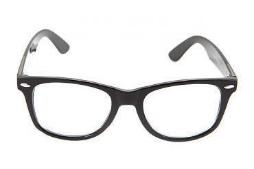 Skaidrūs akiniai wayfarer