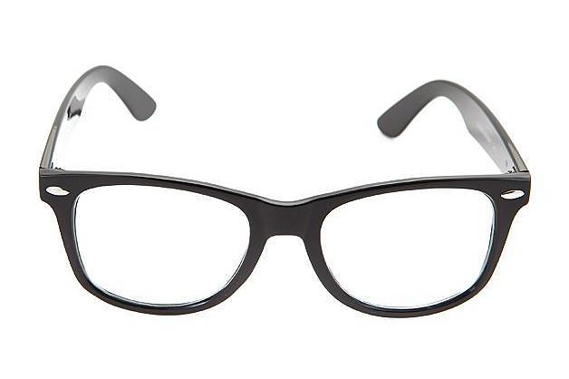Skaidrūs juodi akiniai