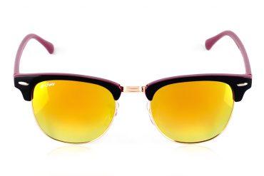 Oranžiniai, geltoni akiniai nuo saulės