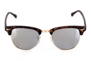 Pilki, sidabriniai saulės akiniai