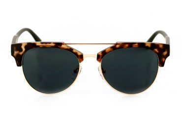 Moteriški akiniai leopardo raštu