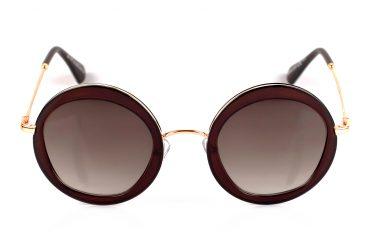 Plastikiniai apvalūs saulės akiniai