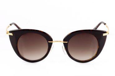 Rudos spalvos moteriški saulės akiniai