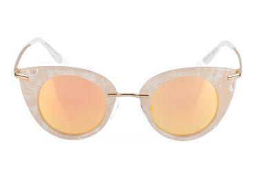 Ružavi saulės akiniai Kitty
