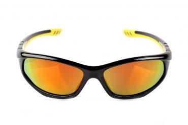 Oranžiniai akiniai sportui