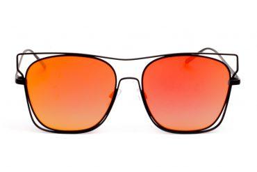 Gelvai raudoni veidrodiniai akiniai