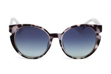 Moteriški saulės akiniai margu rėmu