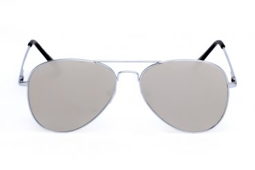 Pilki aviator akiniai