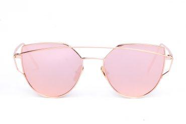 Rožiniai akinių lęšiai