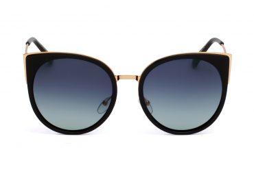 Auksinės - juodos spalvos saulės akiniai