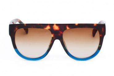 Stilingi saulės akiniai - ruda, mėlyna