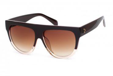 Plastikiniai dideli akiniai nuo saulės moterims