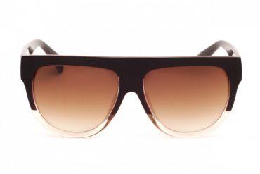 Didelių akinių nuo saulės priekis