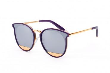 Saulės akinių rėmelis violetinis
