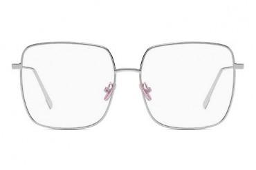 Didelis kvadratinis skaidrių akinių rėmelis