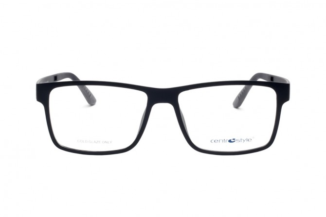 Vyriškas akinių rėmelis su klipsais