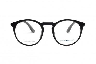 Apvalūs akiniai su klipsais
