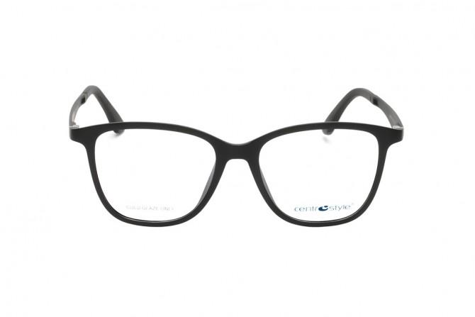 Moteriškų akinių rėmelis su clip-on nuo saulės