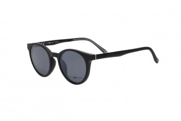 Apvalus akinių rėmelis su klipsais