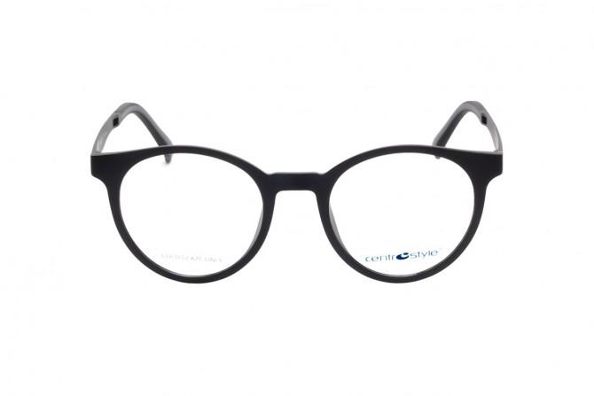 Unisex akinių rėmelis su klipsais nuo saulės